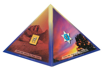 famous five pyraminds in Delhi